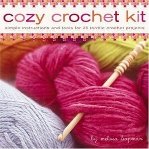 Cozy Crochet Kit with Instructions & Tools for 25